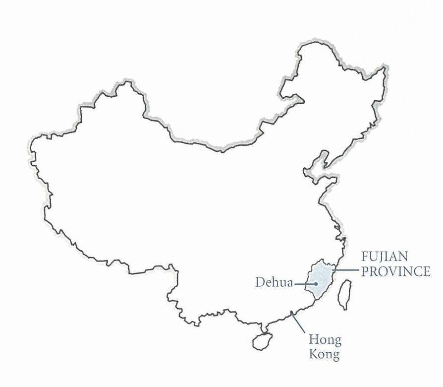 Cartina Cina Con Province.Blanc De Chine Le Porcellane Di Dehua Pagine Zen