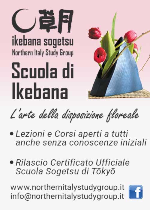Ikebana sogetsu Northern Italy Study Group - Scuola di Ikebana