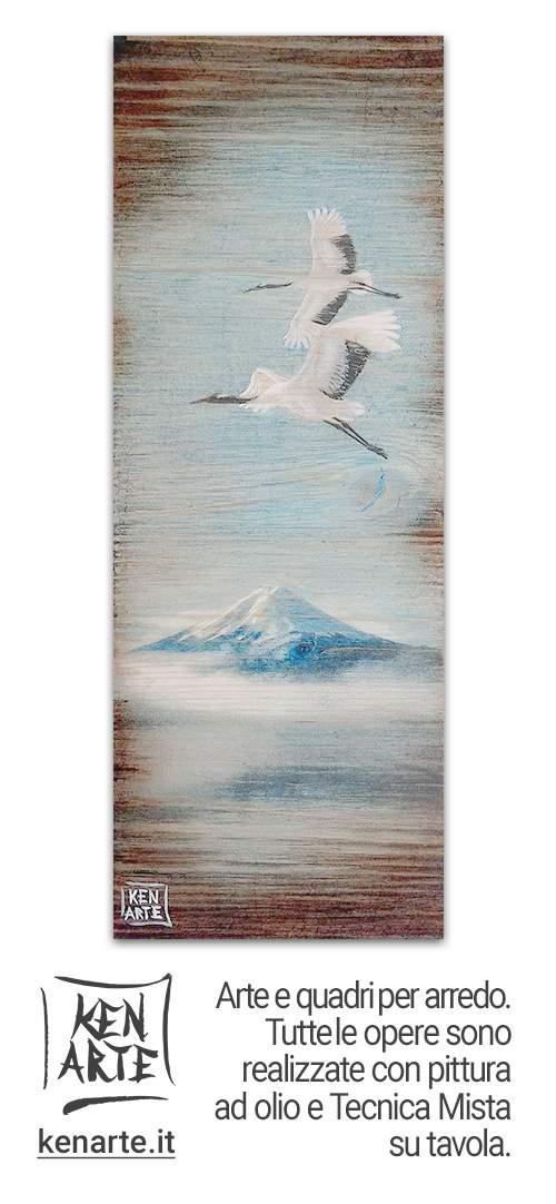 Ken Arte: Arte e quadri per arredo. Tutte le opere sono realizzate con pittura ad olio e Tecnica Mista su Tavola - kenarte.it