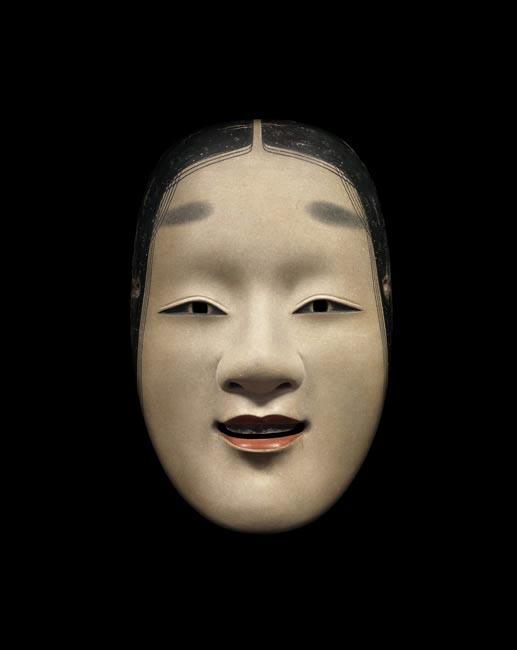 maschera giapponese bocca